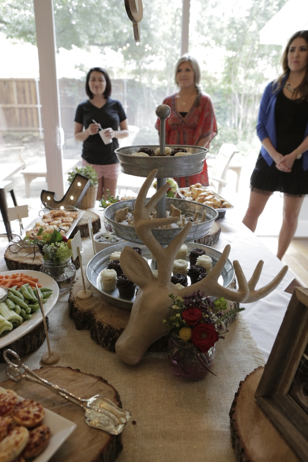 Judah Augustine's Rustic Woodlands Baby Shower
